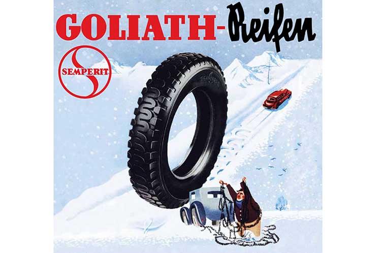 Реклама Semperit Goliath