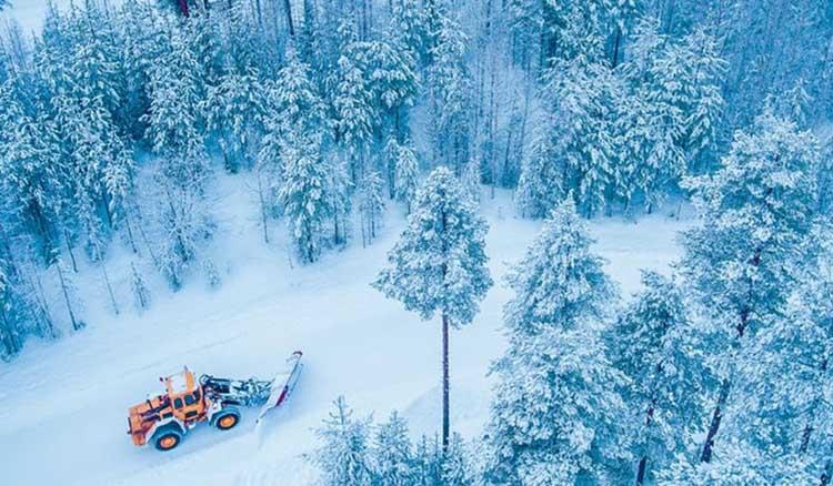 Тесты шин по снегу